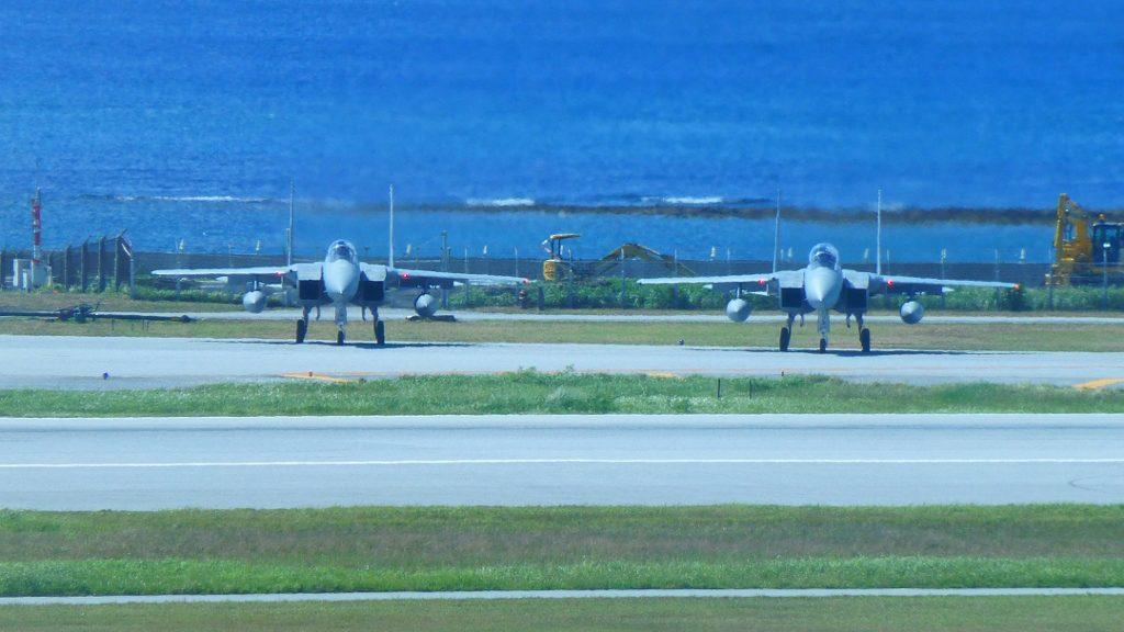 航空自衛隊 那覇基地F-15
