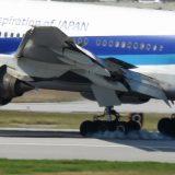 飛行機のブレーキ