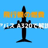 飛行機の燃費・エアバス A320が1分間に使う燃料は?なぜエンジンは2タイプあるの?