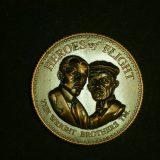 メーカー記念メダル:ライト兄弟 初飛行100周年記念