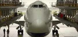 【動画】ブリティッシュ・エアウェイズ(BA)747-400の重整備(Dチェック)