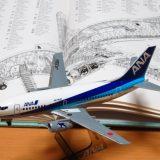 【ANA B737-500 JA306K】ハセガワ 旅客機プラモデルを1日で製作(初心者向け)