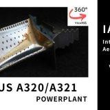 エアバス A320 タービンブレード|IAE V2500 ターボファンエンジン