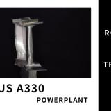 【A330】ロールスロイス Trent 700の緻密で繊細な部品|HPTブレード