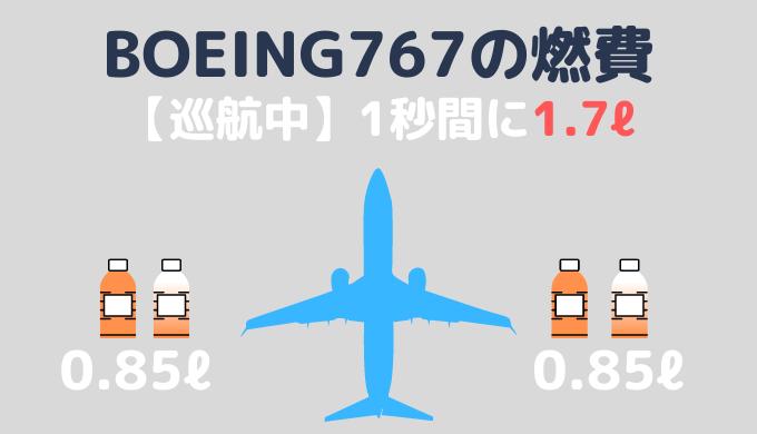 B767燃費