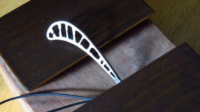 タービンブレード‗鏡面研磨加工