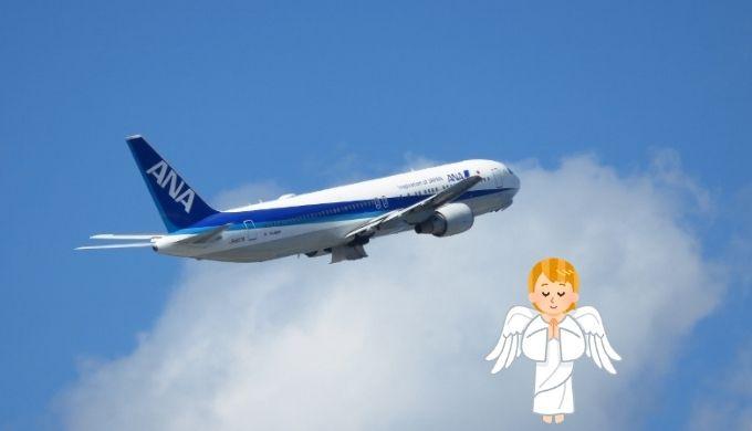 飛行の安全を見守るエンジェルウイング