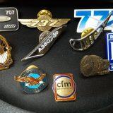 飛行機のピンズ・ピンバッジ|集めてみると結構面白いコレクション