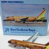 【ベアバス?】ヘルパ ジャーマンウイングス A319 D-AKNO|Herpa 509107