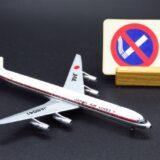 【普通席は後方以外禁煙です。】JAL DC-8-61 空の貴婦人|Star Jets 1/500